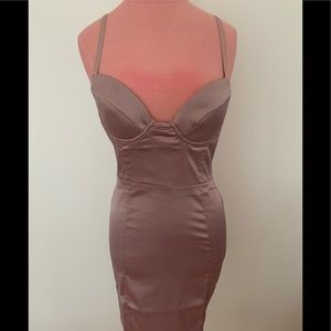 Brand new lavender dress with underwire at bust